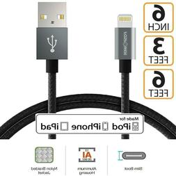 3 6 FT 6 in Apple MFI Cert Lightning Cable Charger for iPhon