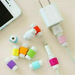 10 Pcs Protective Charging Charger Cable Protector Cord Save
