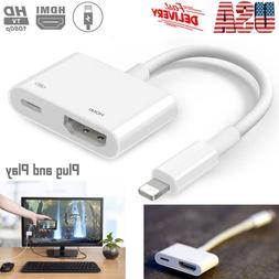 1080P Lightning To HDMI Digital AV TV Cable Adapter For iPad