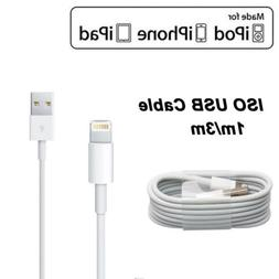 1M/3M Cell Phone ISO Lightning USB Charger Cables For Apple