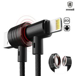 2 in 1 Lightning & Micro USB Magnetic Cable, Single interfac