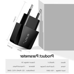 2-Port USB Port Fast Charger Cellphone Wall Power Charging A