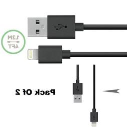2X Black Belkin Lightning USB Charge Data Cable iPhone X 8 7