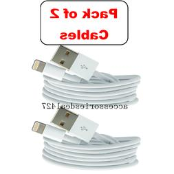 2Pack 3FT USB Cable For OEM Original Apple iPhone5 6 7 8Plus