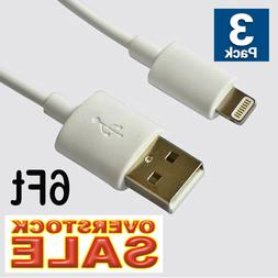 2x USB Cable Charger 6Ft 2M compatible with Lightning oem or