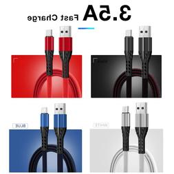 3.5A Fast Charging <font><b>Cable</b></font> For Type C Micr