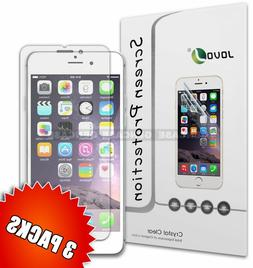3 Pack Shield Film HD Screen Protector for iPhone 7 Plus 6 6