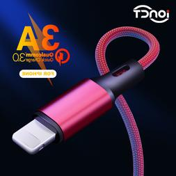 iONCT 3A Fast Charging Nylon data USB <font><b>Cable</b></fo
