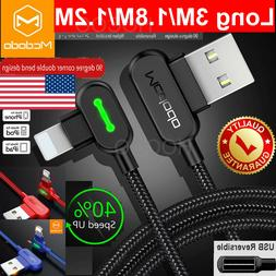 3M Extension Long Length Mcdodo Lightning Cable Charging Cha