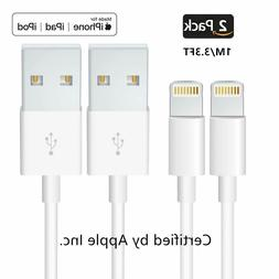 3Pack 3FT USB Cable For OEM Original Apple iPhone5 6 7 8Plus