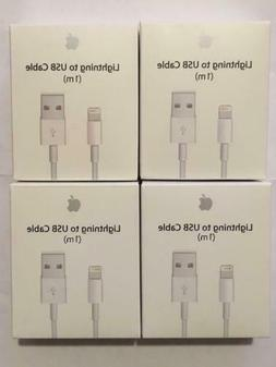 4 pack  OEM Apple Lightning Cable FOR iPhone X 8 7 6plus 5 C