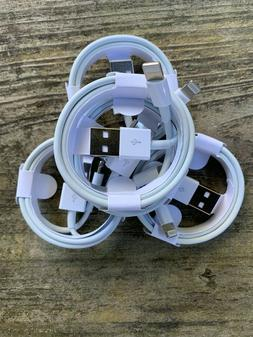 5 Pack 3FT FOR  IPHONE OEM Original CHARGER CORD USB Charger