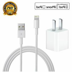 5W USB Power Wall Plug Charger Adapter With Lightnin Cable F