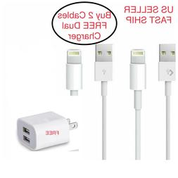 6ft High Quality Apple Lightning USB Charger Cable Cord Ipho