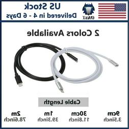 8 Pin Lightning Male to Female Extension Data Cable Cord for