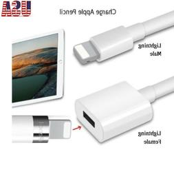 8 Pin Lightning Male to Female Extension Data Cable For iPho