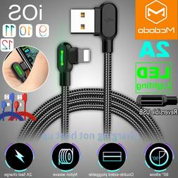 Mcdodo 90 Degree For iPhone Cable Right Angle lightning Cabl