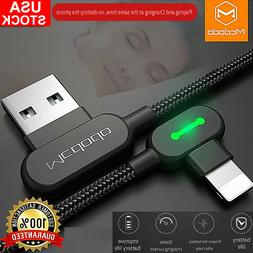 Mcdodo 90 Degree Right Angle lightning Cable Charger iPhone