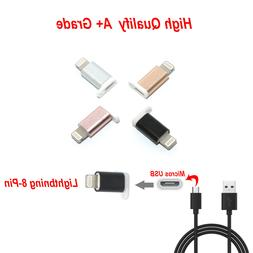 A++ Micro USB to 8-Pin Lightning Adapter android to iphone X