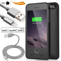 Smart Battery Case Cover Apple MFi Certified Rechargeable iP