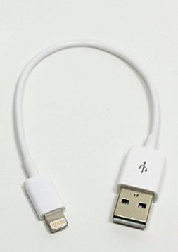 CableJive iBoltz XS Extra Short 5 inch  Small Lightning USB