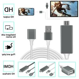 Lightning To HDMI Digital AV Cable Adapter HDTV Projector MH