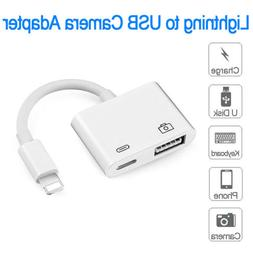Lightning to USB 3 Camera Reader Data Sync Cable Adapter For