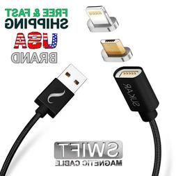 Magnetic Charger Adapter Micro USB Lightning Charging Cable