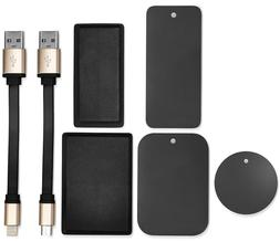 Magnetic Kit for Portable Power Banks Batteries for micro US