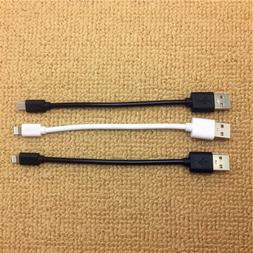 Mini Short 20cm 8Pin USB Charger Charging Cable for iPhone X