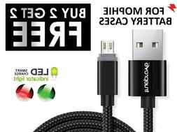 ✔Pick-a-Length USB FAST Charger Charging Cord LED Cable fo
