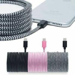 Pur Tech Apple-Certified Braided Lightning Cable 10ft - Choo