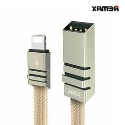 Remax 2.1A Weave USB  iPhone Lightning Cable