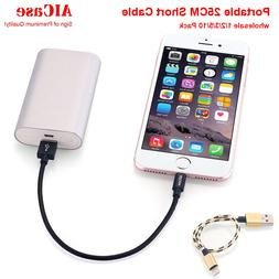 Short USB Cable 8 pin lightning Charging for iPhone 5/6/6S/7