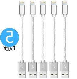 Short USB Lightning Charger Cable For Apple iPhone X 8 7 6S