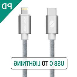 USB C PD to Lightning Fast Charging Cable, ZeroLemon USB C P