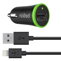 Belkin Apple Certified Car Charger with 4-Foot Lightning to