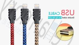Apple Certified MFI 8-Pin Lightning Braided Sync Charge USB