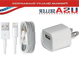 Apple Lightning USB Charger Cable Cord iPhone 6 7 8 X Plus.