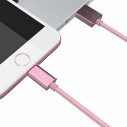 PUR 3.3ft/1.0m Nylon Braided Lightning Cable for iPhone 5/