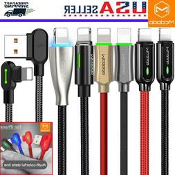 MCDODO Braided Lightning Cable Charger iPhone XS Max XR 8 US