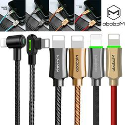 MCDODO Braided Lightning Data USB Charger Charging Cable fr