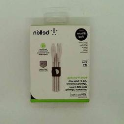 BELKIN CABLE LIGHTNING TO USB-C TYPE C BOOST CHARGE 1.2M WHT