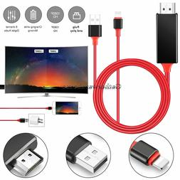 Lightning to HDMI Digital AV TV Cable Adapter For Apple iPad