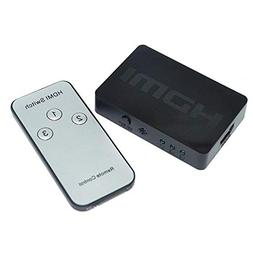 Huangou ❤ HDMI Switcher ❤ 3 Port 1080P Video HDMI Switch
