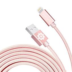 iPhone 6S Charger, F-color iPhone 7 Charger Cable 6 Feet Lon
