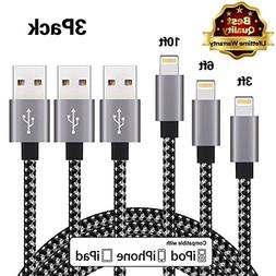 iPhone Cable Charger Usb Lightning Cable Cord Compatible Wit