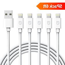 iPhone Cable, Sundix iPhone Charger 5Pack 6FT Lightning to U