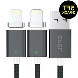 iPhone Lightning Cable, GPEL Easy One Touch Magnetic Cable 2