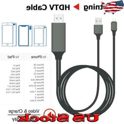 For iPhone Lightning Screen Display To Cable HDMI Adapter US